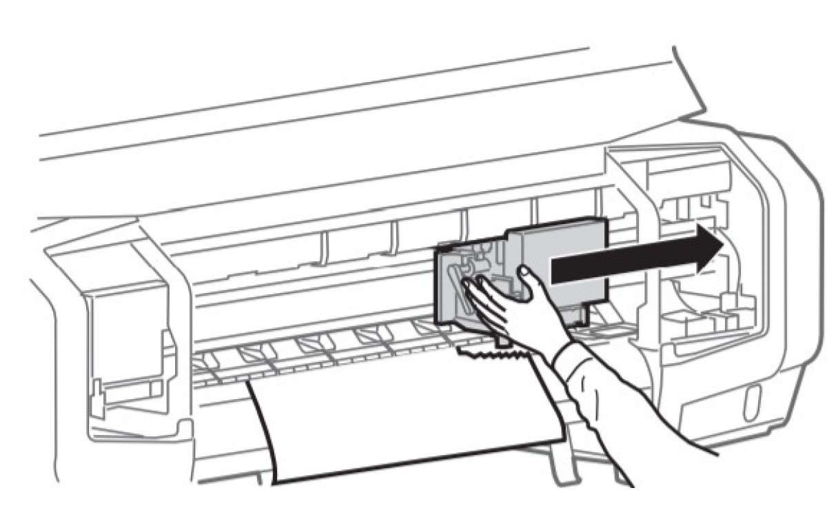 Hướng dẫn xử lý sốc vật liệu trên máy in Mutoh VJ-628