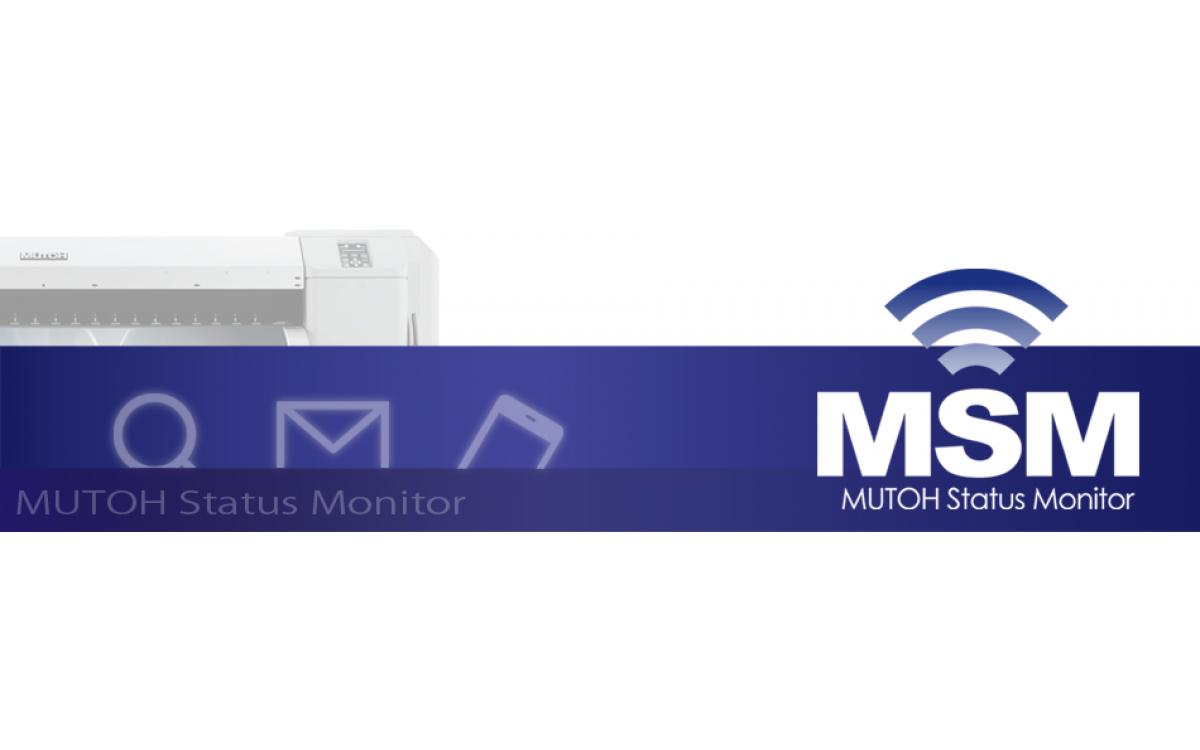 Giới thiệu nút vật lý và MSM máy in Mutoh VJ-628